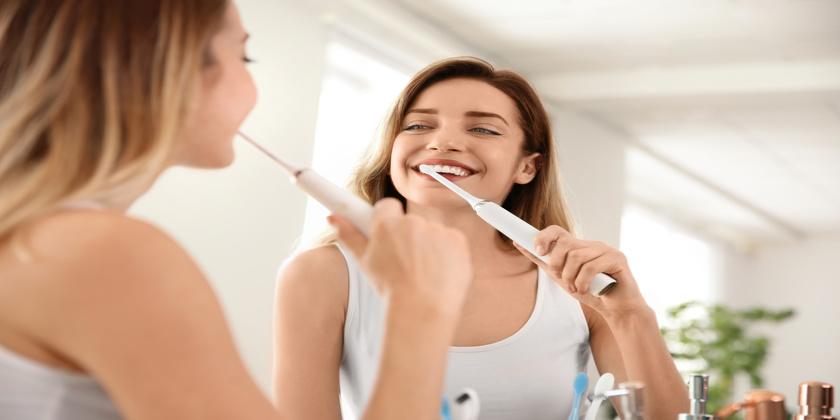 clean teeth and fresh breath