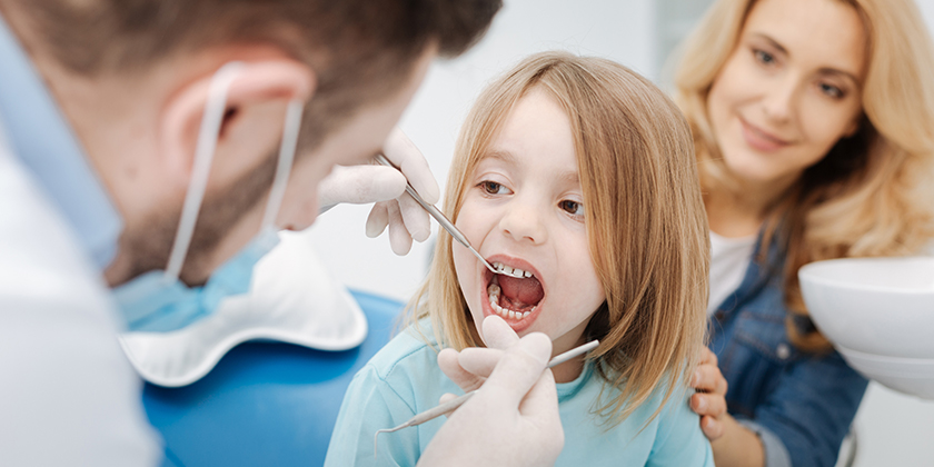pediatric dentist.